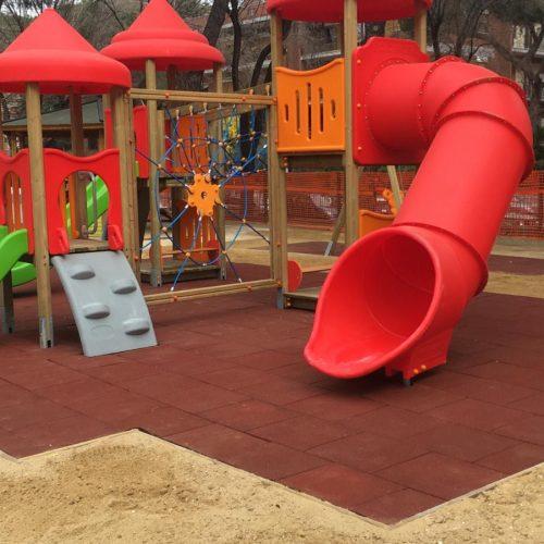 Parco giochi scolastico – Via Lemonia